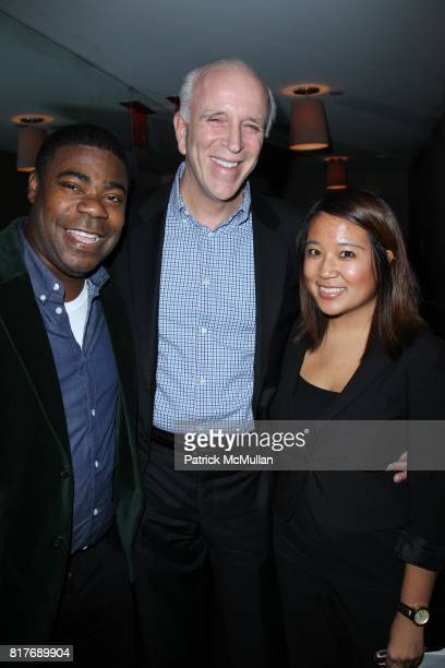 Tracy Morgan Larry Burstein and Brianne Fortuna attend NEW YORK MAGAZINE Hosts the Celebration Party for the Launch of VULTURECOM at Soho House on...