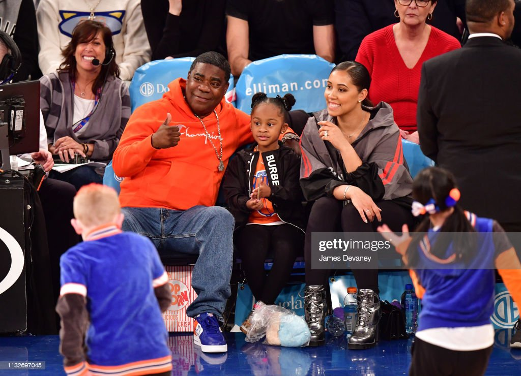 NY: Celebrities Attend Los Angeles Clippers v New York Knicks