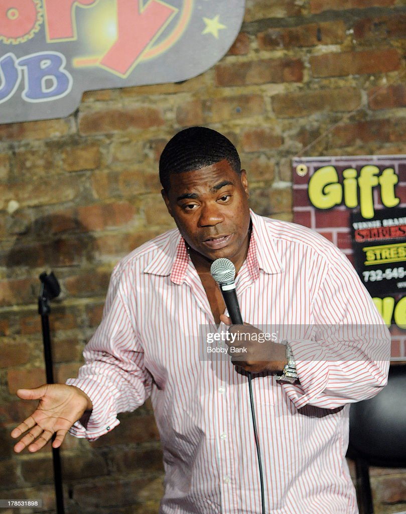 Tracy Morgan performs at The Stress Factory Comedy Club on August 29, 2013 in New Brunswick, New Jersey.