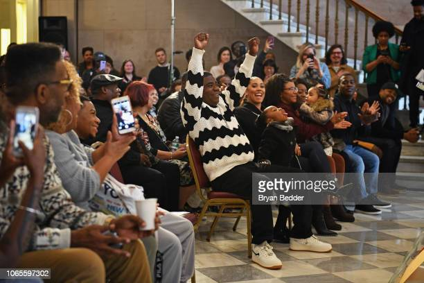 Tracy Morgan receives a key to the borough of Brooklyn at Brooklyn Borough Hall on November 9 2018 in New York City 454231
