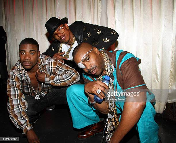 Tracy Morgan,Nick Cannon and Slick Rick during Kelis Throws Nas a Surprise Birthday Party with a Special Performance - September 13, 2006 at Canal...