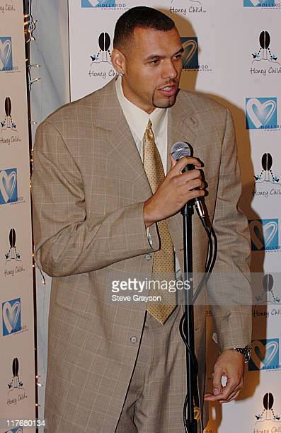 Tracy Murray during A Hollwood AllStar Tribute to the NBA's Leah Wilcox at L'Ermitage Hotel in Beverly Hills California United States