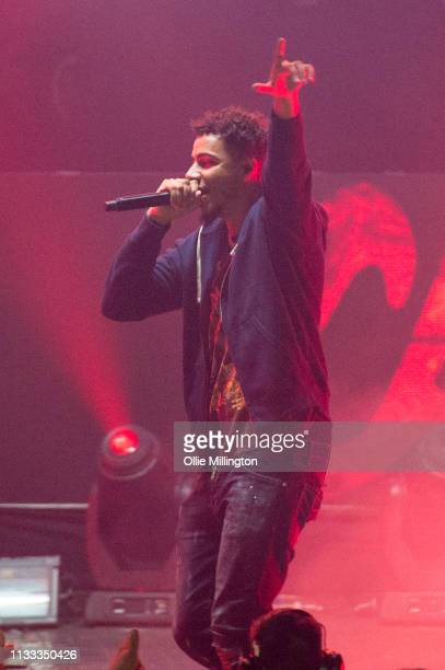 Tracy performs on stage during GRM Daily Presents The Rated Legend Tribute Show In Memory Of Cadet at Brixton Academy on March 2, 2019 in London,...