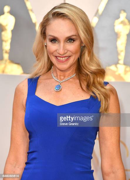 Tracy Pollan arrives at the 89th Annual Academy Awards at Hollywood Highland Center on February 26 2017 in Hollywood California