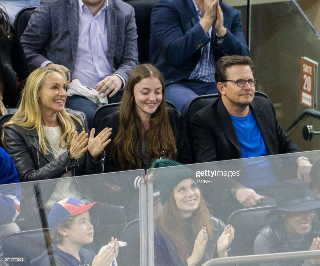 Celebrities Attend Montreal Canadiens Vs. New York Rangers 2017 Playoffs Game 6 - April 22, 2017