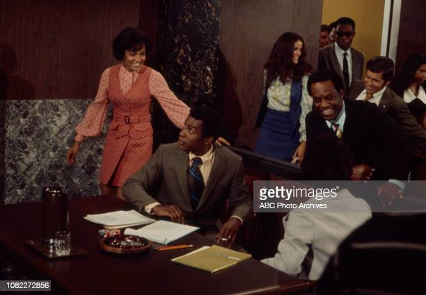 Tracy Reed Scoey Mitchell Nipsey Russell extras appearing in the Walt Disney Television via Getty Images series 'Barefoot in the Park' episode...
