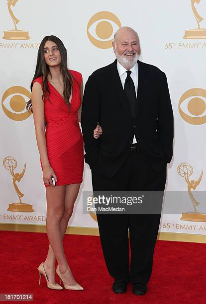 Tracy Reiner and Rob Reiner arrive at the 65th Annual Primetime Emmy Awards at Nokia Theatre LA Live on September 22 2013 in Los Angeles California