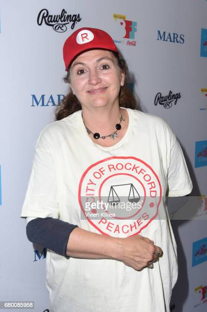 Tracy Reiner attends A League of Their Own 25th Anniversary Game at the 3rd Annual Bentonville Film Festival on May 7 2017 in Bentonville Arkansas