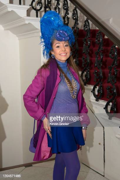 Tracy Rose at the Maison Bent AW20 Presentation at Pushkin House on February 06 2020 in London England