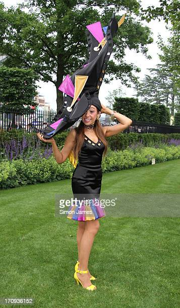 Tracy Rose sighting on June 20 2013 in Ascot England