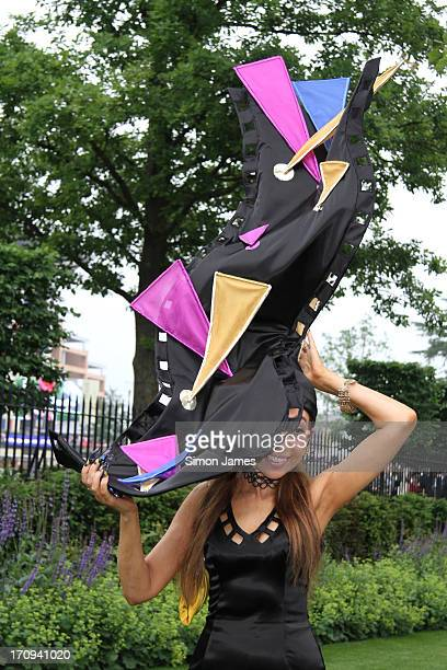 Tracy Rose sighting on Ladies Day at Ascot Races June 20 2013 in Ascot England