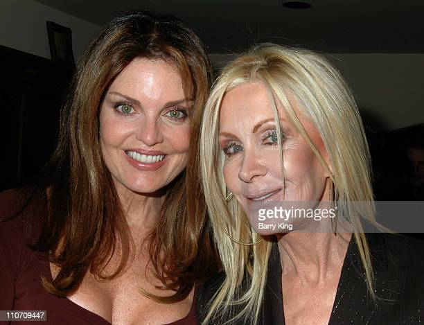 Tracy Scoggins and Joan Van Ark during Here Network founders Paul Colichman and Stephen Jarchow Honored at 2007 ACLU Pride Partnership Awards Inside...