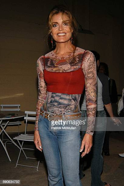 Tracy Scoggins attends OUTFEST 2005 Awards at Ford Amphitheatre on July 17 2005 in Hollywood CA