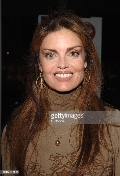 Tracy Scoggins during AOL In2TV Launch Inside at Museum of Television in Los Angeles California United States