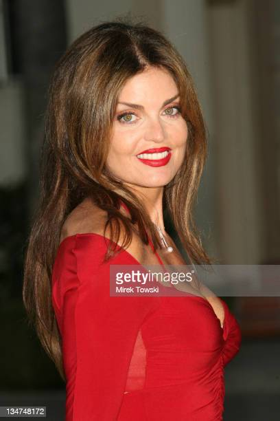 Tracy Scoggins during Season Four premiere of Nip/Tuck Los Angeles Arrivals at Paramount Studios in Hollywood CA United States