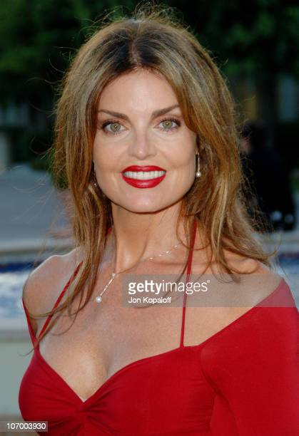 Tracy Scoggins during Season Four Premiere Screening Of Nip/Tuck Arrivals at Paramount Studios in Los Angeles California United States