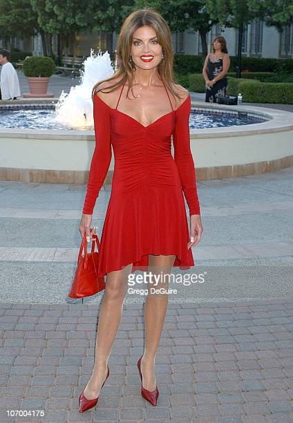 Tracy Scoggins during Season Four Premiere Screening Of Nip/Tuck Arrivals at Paramount Studios in Hollywood California United States