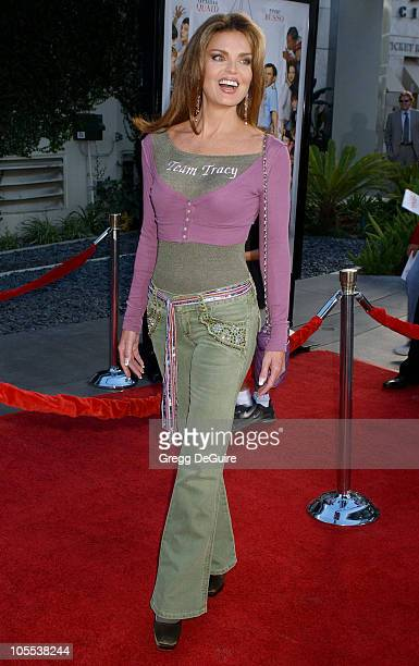 Tracy Scoggins during Yours Mine and Ours Los Angeles Premiere Arrivals at Cinerama Dome in Hollywood California United States