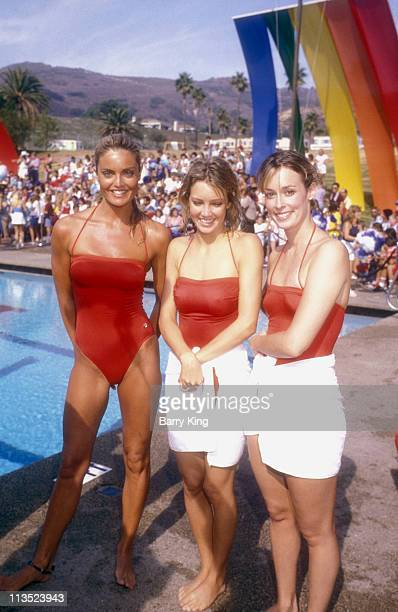 Tracy Scoggins Heather Locklear and Mary Cadorette
