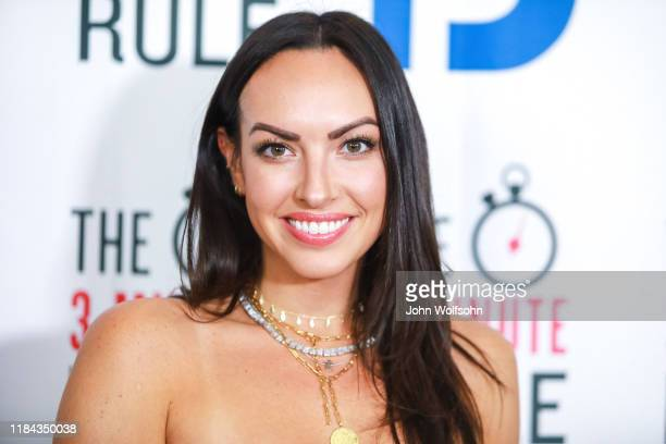 Tracy Shapoff attends red carpet event featuring business influencers celebrities and leading network executives gather to celebrate Brant Pinvidic's...