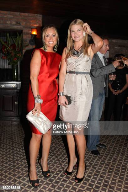 Tracy Smith and Kate Shelter attend House of Lavande Hosts the Nest Foundation Gala at Bowery Hotel on May 1 2009 in New York City