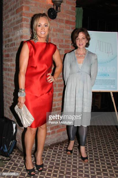 Tracy Smith and Libby Spears attend House of Lavande Hosts the Nest Foundation Gala at Bowery Hotel on May 1 2009 in New York City
