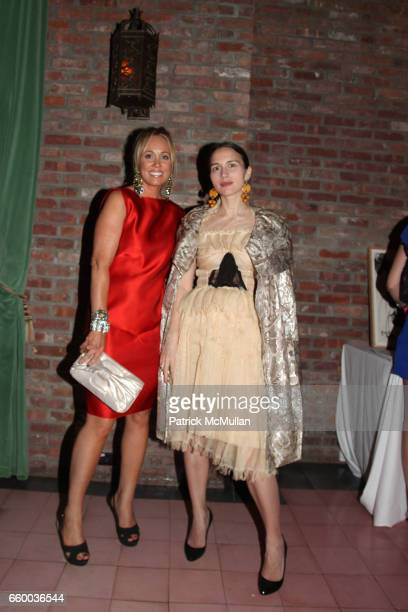 Tracy Smith and Olya Thompson attend House of Lavande Hosts the Nest Foundation Gala at Bowery Hotel on May 1 2009 in New York City