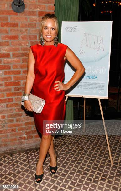 Tracy Smith attends the Playground screening gala at The Bowery Hotel on May 1 2009 in New York City