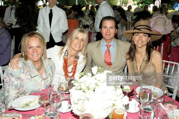 Tracy Snyder Jill Fairchild Eric Javits and Allison Rockefeller attend CENTRAL PARK CONSERVANCY's 28th Annual Fredrick Law Olmsted Awards Luncheon at...