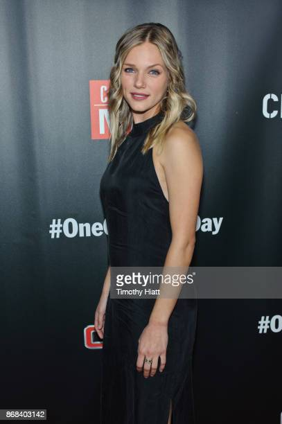 Tracy Spiridakos attends the One Chicago party during NBC's 'One Chicago' press day on October 30 2017 in Chicago Illinois