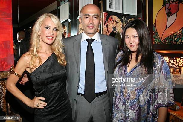 Tracy Stern Alex Tahsili and Susan Shin attend NAVAN Chill Out with Tracy Stern at Residence of Tracy Stern on September 27 2007 in New York City