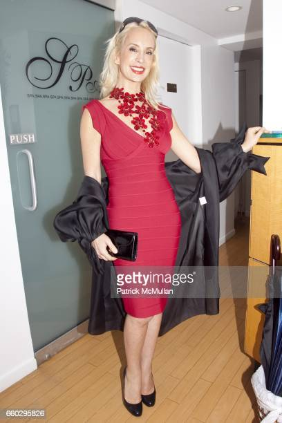 Tracy Stern attends RODOLFO VALENTIN'S Salon & Spa Preview Party at 694 Madison Avenue on June 15, 2009 in New York City.