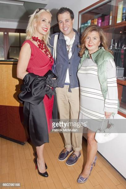 Tracy Stern Kristin Laliberte and Ana Itbian attend RODOLFO VALENTIN'S Salon Spa Preview Party at 694 Madison Avenue on June 15 2009 in New York City
