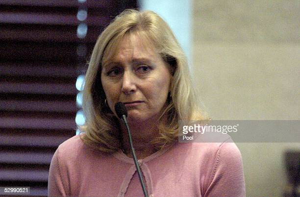 Tracy Stewart testifies about the events leading to the death of her husband, professional golfer Payne Stewart, in an October 1999 plane crash May...