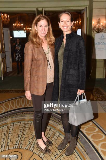 Tracy Stuart and Virginia Pursche attend the Twelfth Annual Lung Cancer Awareness Luncheon at The Pierre Hotel on November 1, 2017 in New York City.