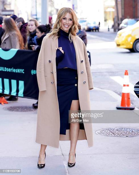 Tracy Tutor is seen on February 28 2019 in New York City