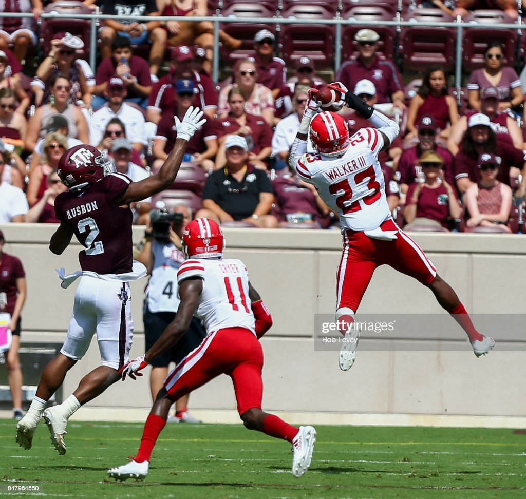 Louisiana Lafayette v Texas A&M : News Photo