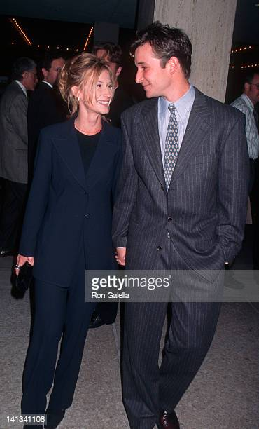 Tracy Warbin and Noah Wyle at the 1996 Los Angeles Theater Ovation Awards Shubert Theater Century City