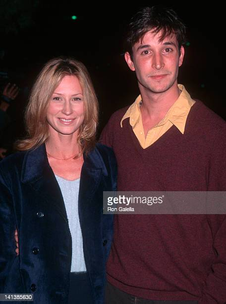 Tracy Warbin and Noah Wyle at the Premiere of 'The Substance of Fire', Academy Theater, Beverly Hills.
