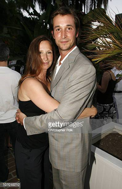 Tracy Warbin and Noah Wyle during Ellen DeGeneres Portia de Rossi and Gina Philips Host a Charity Event to Help Launch a SelfSustaining FXB Village...