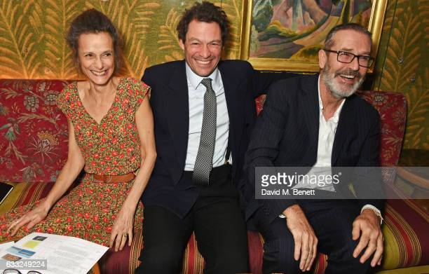 Tracy Ward Marchioness of Worcester Dominic West and Rupert Everett attend the Farms Not Factories #TurnYourNoseUp at Pig Factories benefit dinner...