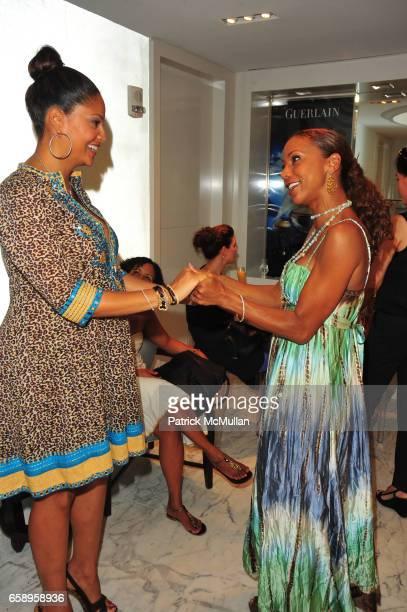 Tracy Wilson Mourning and Holly Robinson Peete attend TRACY WILSON MOURNING baby shower hosted by JACI WILSONREID at Guerlain Spa The Waldorf Towers...