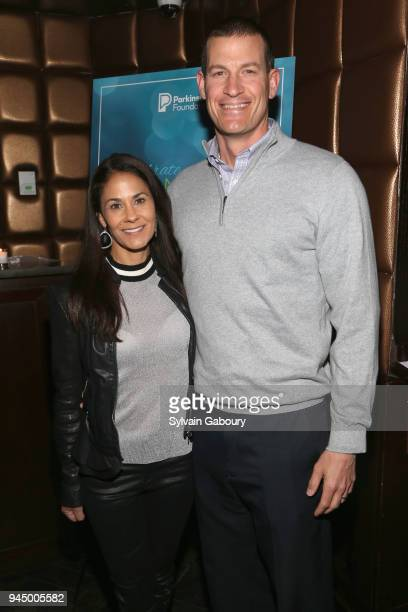 Tracy Wolfson and David Reichel attend Parkinson's Foundation hosts Annual Celebrate Spring New York on April 11 2018 in New York City