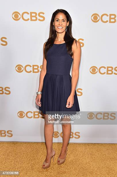 Tracy Wolfson attends the 2015 CBS Upfront at The Tent at Lincoln Center on May 13 2015 in New York City