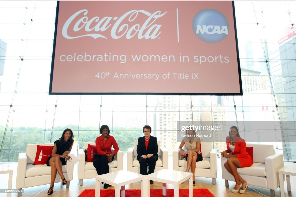 Stars Join Coca-Cola, NCAA To Honor Title IX 40th Anniversary