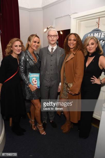 TracyAnn Oberman Angela Griffin John McCrea Amanda Holden and Nicola Stephenson attend the opening night of Everybody's Talking About Jamie a new...