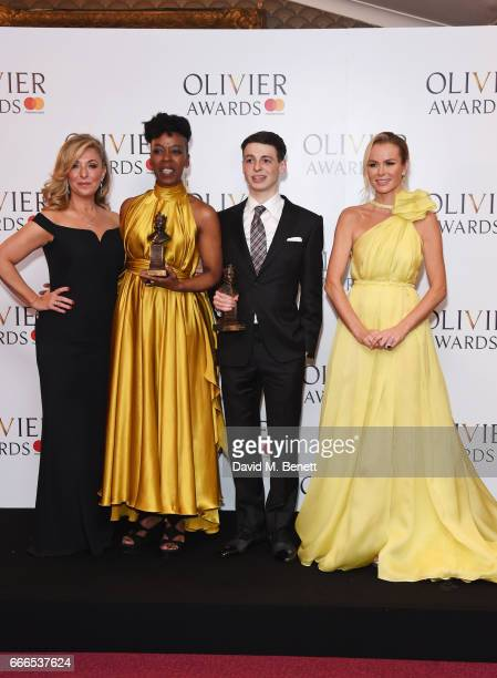 TracyAnn Oberman Noma Dumezweni winner of the Best Actress in a Supporting Role for 'Harry Potter And The Cursed Child' Anthony Boyle winner of the...