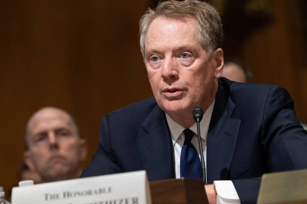 DC: U.S. Trade Representative Robert Lighthizer Testifies Before The Senate Finance Committee On North American Trade