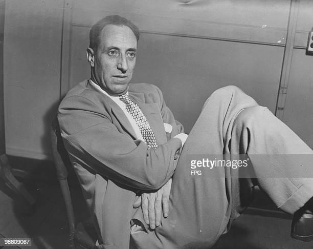 Trade union leader Harry Bridges in New York City 1948