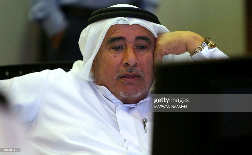 UAE-STOCK-MARKET-IRAN : News Photo